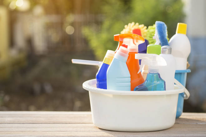 The public have been advised against using dishwasher liquid to clean toilets (stock image)