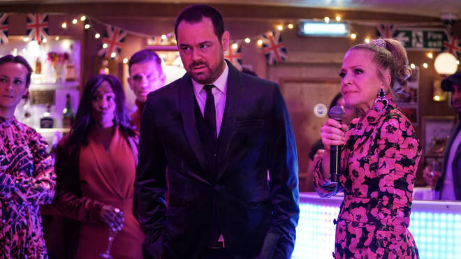 Linda and Mick Carter are in danger at EastEnders' boat party