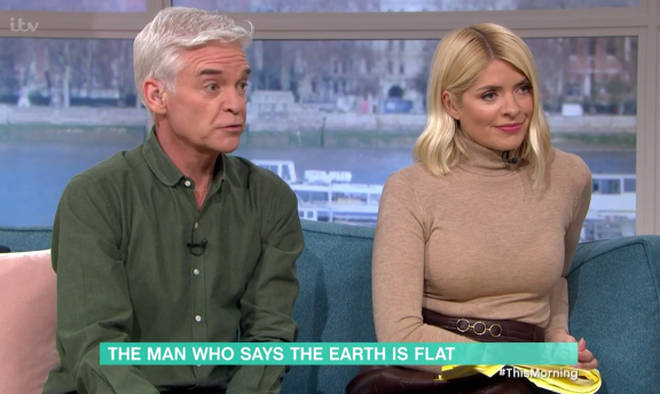 Phillip Schofield and Holly Willoughby were left baffled by Mark's theory