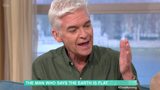 Phillip Schofield questioned Mark over seeing the curvature of the earth