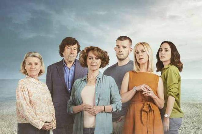 The cast of ITV's Flesh and Blood