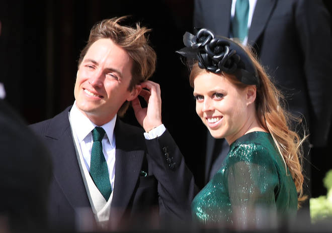 Beatrice and Edoardo announced their engagement last year