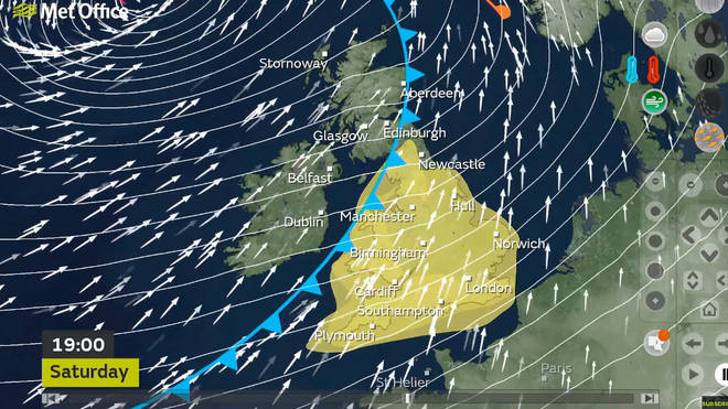 The Met Office have said Storm Dennis will bring more disruption to the UK this weekend