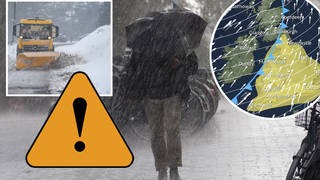 UK weather: Britain to be hit by Storm Dennis this weekend, bringing strong winds and heavier rain than Storm Ciara
