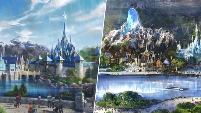 Disney is opening a new Frozen Land in Paris