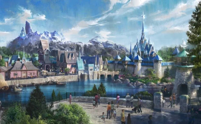 Disneyland Paris Frozen Land