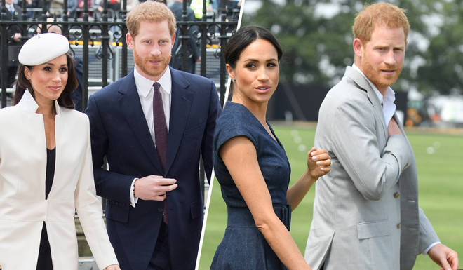 Meghan Markle and Prince Harry are currently laying low in Canada