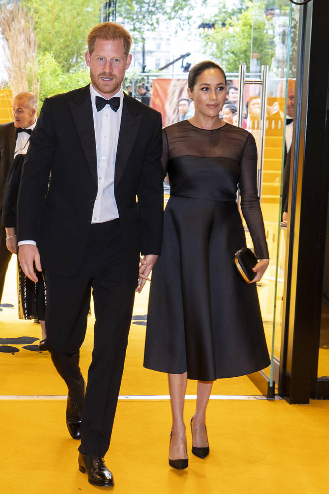 Meghan Markle and Prince Harry stepped down from royal duties in January this year