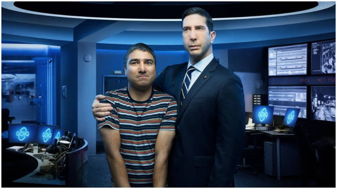 David Schwimmer and Nick Mohammed star in new comedy Intelligence
