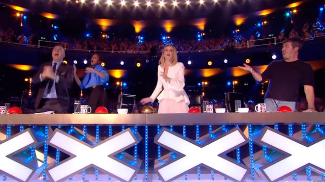 The Britain's Got Talent auditions in Manchester almost ended in disaster as one contestant's magic trick went wrong