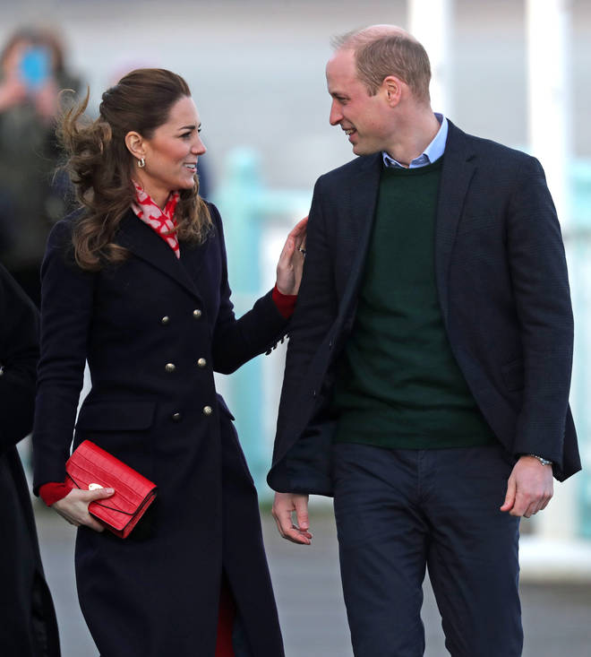 The Duke and Duchess of Cambridge have been busy with royal duties