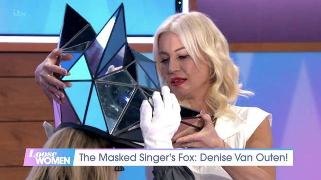 Denise appeared on the ITV daytime show