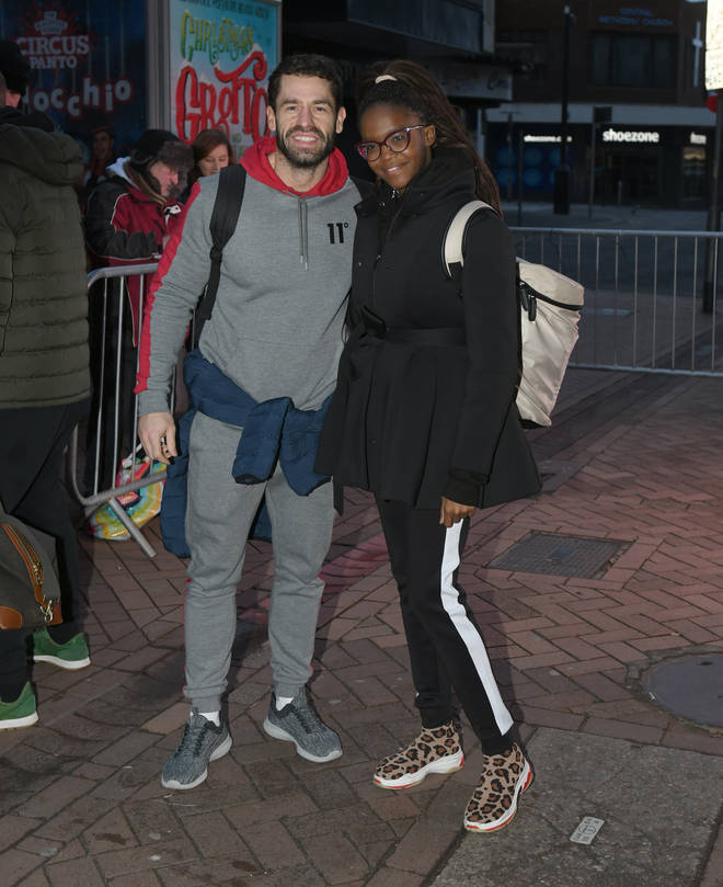 Kelvin and Oti won Strictly together in 2019