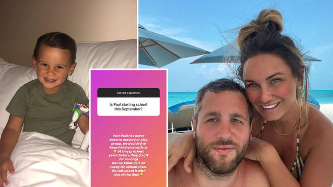 Sam Faiers has spoken out on her decision on Instagram