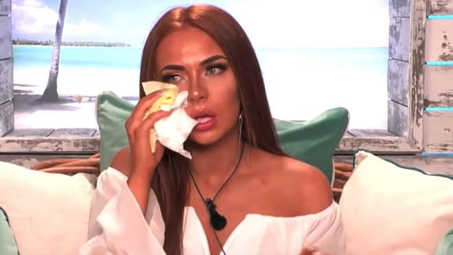 Demi is left in tears over Luke M on Love Island