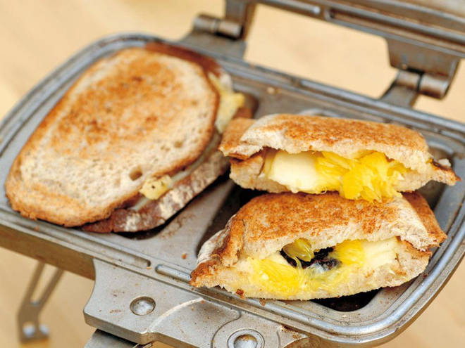 The toasted sandwich maker is sure to thrill lovers of the great outdoors