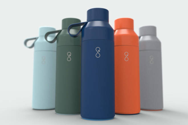 The Ocean Bottle is available in a variety of colours