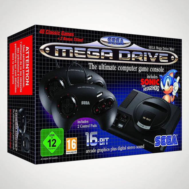 Go on a trip down memory lane with this compact reissue of the iconic Mega Drive