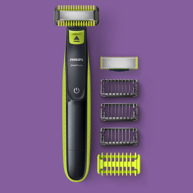 This nifty clipper is suitable for face and body