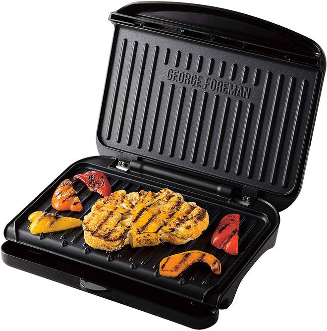 George Foreman grills can be used to cook meat, fish and veggies