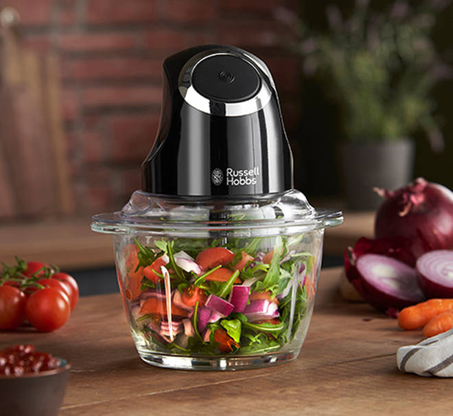 These electric chopper will make meal prep a synch