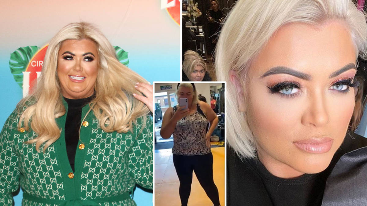Gemma Collins reveals she's been inspired by Adele as she shows off dramatic weight loss in skintight outfit
