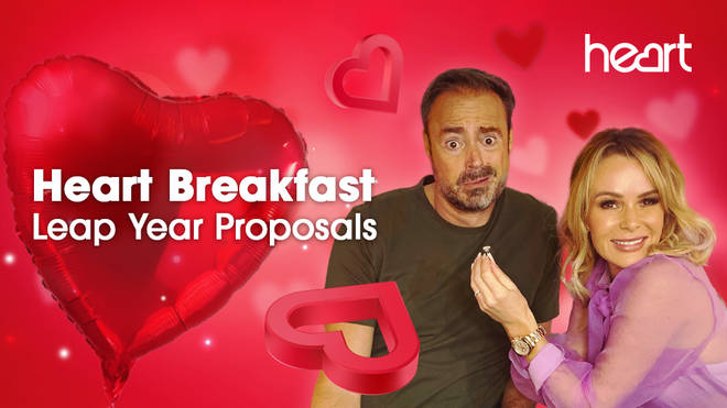We want YOU to propose to someone special on Heart Breakfast