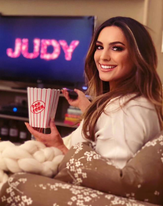 Kelly watched Judy, which is available in Sky Store now