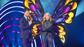 Patsy Palmer was revealed as the Butterfly