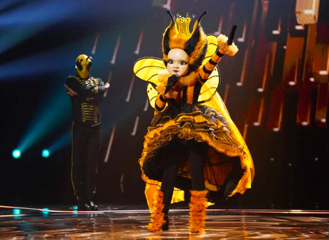 Queen Bee is the favourite to win The Masked Singer