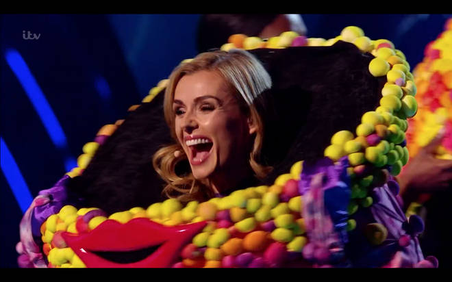Katherine Jenkins was unveiled as Octopus on The Masked Singer tonight
