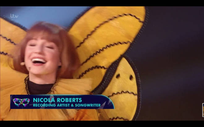 Nicola Roberts was Queen Bee on The Masked Singer