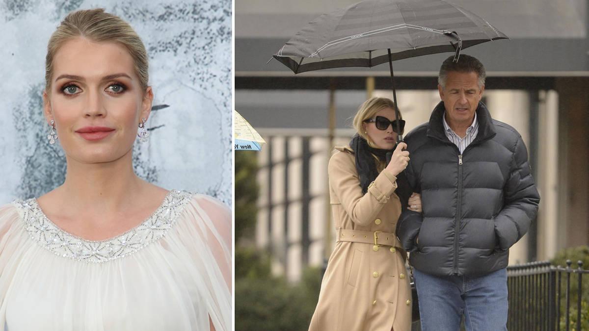 Princess Diana's niece Lady Kitty Spencer, 29, 'converting to Judaism' to marry millionaire fiancé, 61