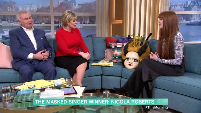 Nicola Roberts was crowned the winner of The Masked Singer at the weekend