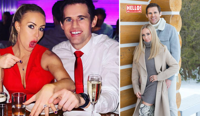 Brianne Delcourt and Kevin Kilbane got engaged after meeting on Dancing On Ice