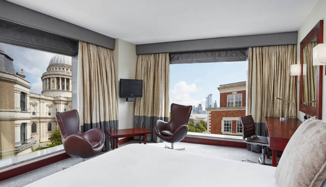 Enjoy stunning views at Leonardo Royal Hotel London St Paul's
