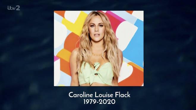 Love Island's dedication to Caroline was very emotional