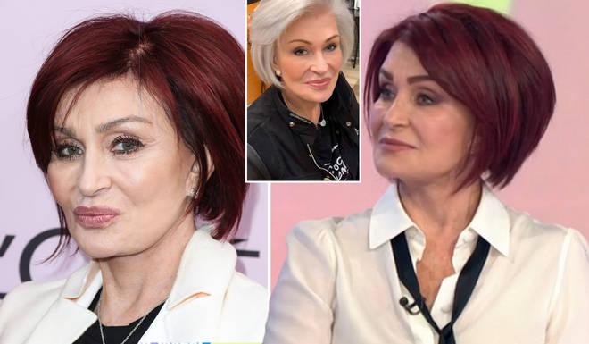Sharon Osbourne has revealed her new hair