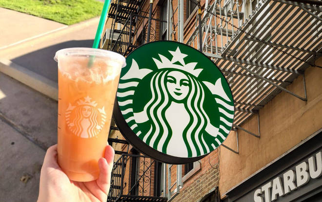 The orange drink is the newest Starbucks craze