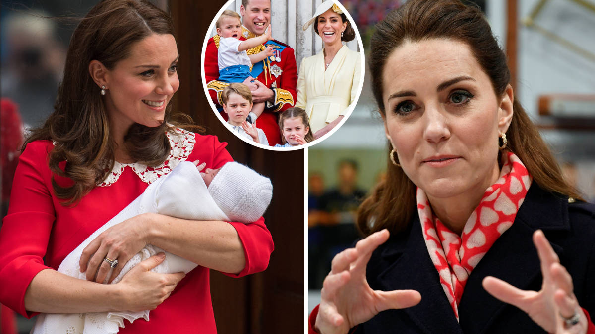 Kate Middleton admits she 'really liked' labour after turning to 'powerful' hypnobirthing
