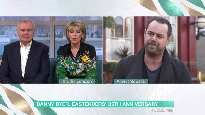 Danny Dyer appeared on This Morning