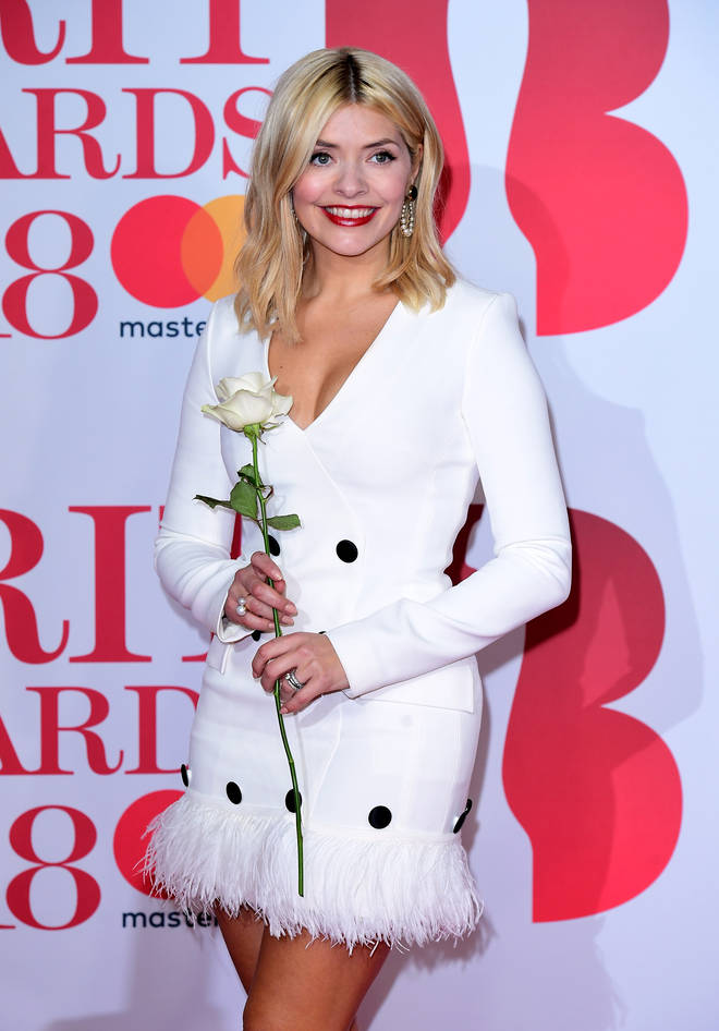 This has to be our favourite Holly Willoughby red carpet look
