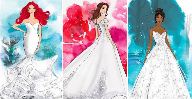 You can now get married dressed as your favourite Disney princesses