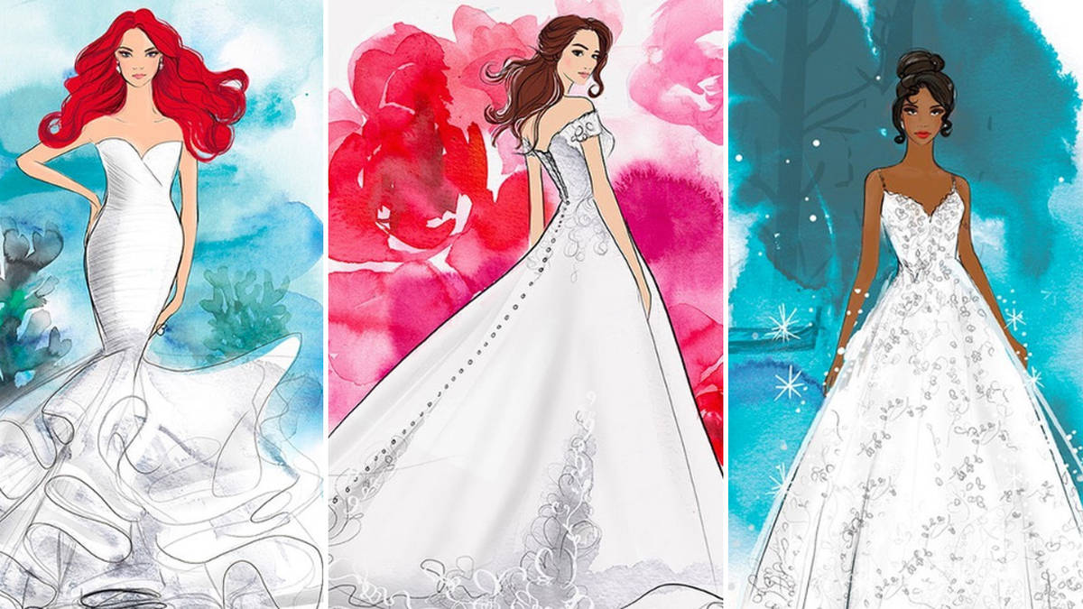 Disney launches line of wedding dresses based on your favourite princesses