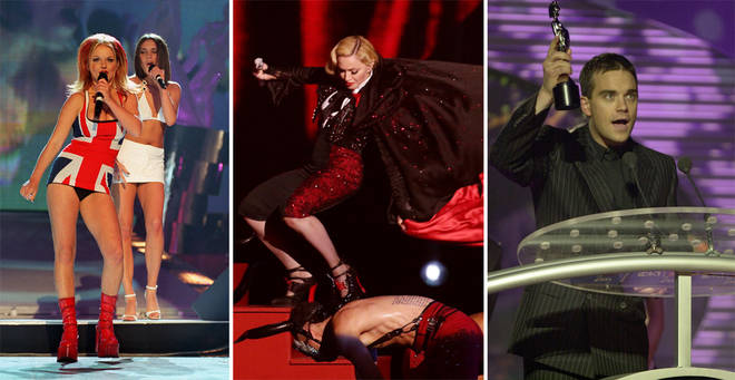 The Brit Awards most outrageous moments