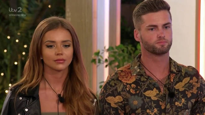 Natalia and Jamie said they'll 'pick up where they left off' outside the villa