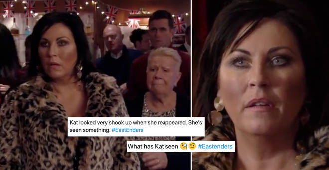 EastEnders viewers think Kat Slater had something to do with the boat crash