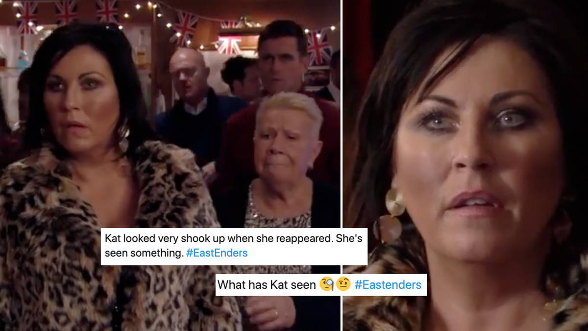 EastEnders fans think Kat caused the boat crash after spotting suspicious behaviour
