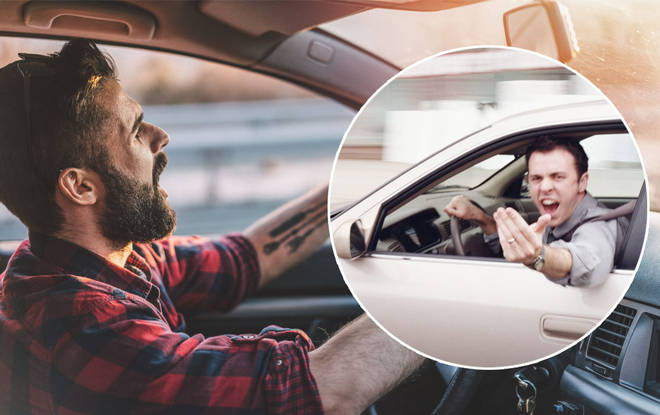 You should be careful you don't pull rude gestures at people when driving