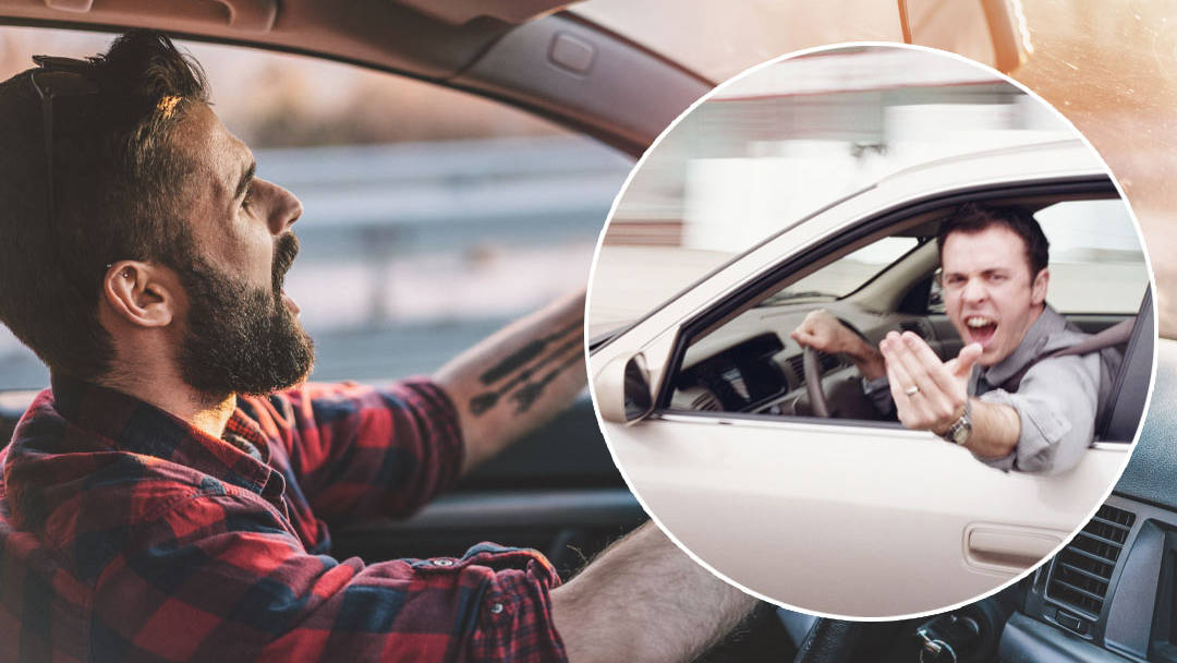 Drivers who make a 'rude hand gesture' could land you a whopping £1k fine